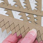 Chipboard Shingles - Pointed