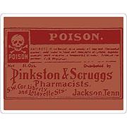 Tim Holtz Embossing Folders - Poison