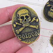 40x30mm Halloween Poison Cameo*