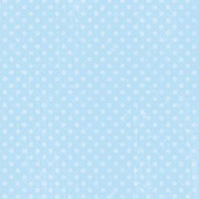 Double Dot Powder Blue Scrapbook Paper