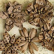 Darjeeling Paper Flowers - Printed Kraft