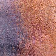 Oxidation Scrapbook Paper - Purple & Rust