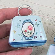 Miniature Metal Purse Tins