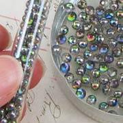 Rainbow Spheres in Tube*