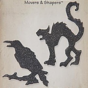 Movers and Shapers Magnetic Die Set - Mini Cat & Raven