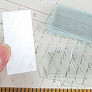 1x2 Inch Rectangular Slide Glass*