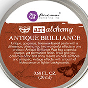 Art Alchemy Antique Brilliance - Red Amber