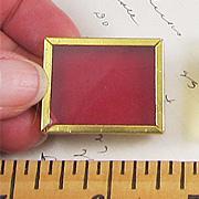 Mini Red Shadowbox