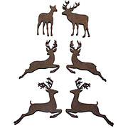 Reindeer Cut-Outs