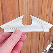Resin Door Pediment