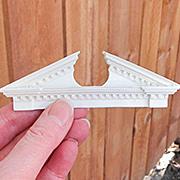 Resin Door Pediment