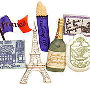 Destination France Resin Embellishments*