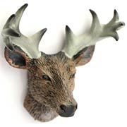 Mini Deer Head Trophy