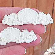 Resin Shell Applique