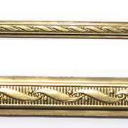 Embossed Brass Trim - Ribbon Scroll