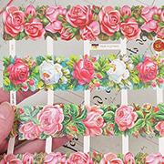 Rose Borders Dresden Scraps