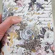 Vintage Floral Scrapbook Paper - The Good News