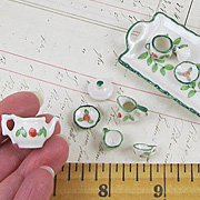 Rose Pattern Service for Two Tea Set
