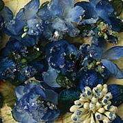 Botanica Sugared Mini Blooms - Royal Blue