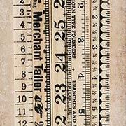 Tim Holtz Wooden Ruler Pieces