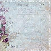 Sanctuary Scrapbook Paper - Botanical Garden