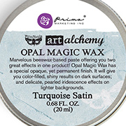 Art Alchemy Opal Magic Wax - Turquoise Satin