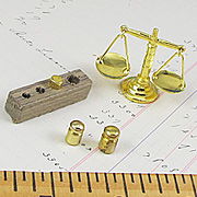 Mini Scale with Weights