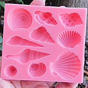 Seashells Silicone Mold Set