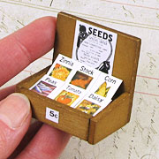Mini Seed Packets in Display Box
