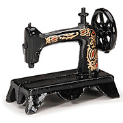 Miniature Vintage Sewing Machine*