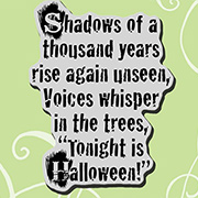 Shadows of a Thousand Years Cling Stamp