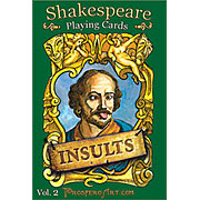 Shakespeare Insult Playing Cards