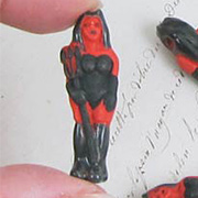 Ceramic She Devil Bead