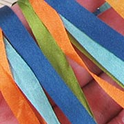 Summer Sea Silk Ribbon Set