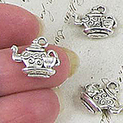 Silver Teapot & Cup Charm*