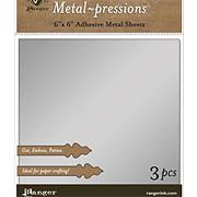 Vintaj Silver Foil Sheets