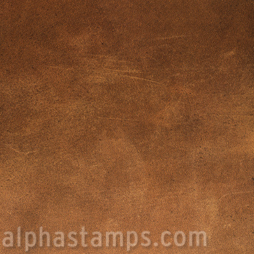 Simply Leather Scrapbook Paper Alpha Stamps