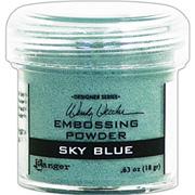 Embossing Powder - Sky Blue
