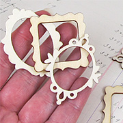 Small Wooden Frame Cut-Outs*