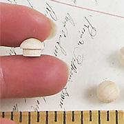 1/4 Inch Wooden Mushroom Plug
