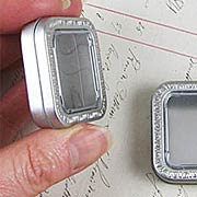 Small Square Tins