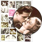 Kisses Collage Sheet