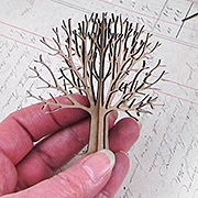 3D Chipboard Tree - 3 Inch*