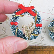 Miniature Decorated Wreath