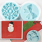 Silicone Molds - Peppermint Winter Snowflake