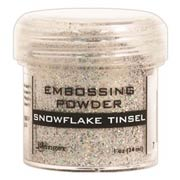 Embossing Powder - Snowflake Tinsel*