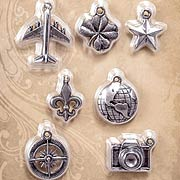 Tim Holtz Souvenir Adornment Charms