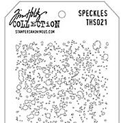 Tim Holtz Stencil - Speckles