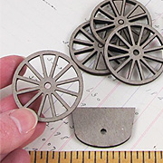 Spoked Wheel Set - 1-1/2 Inch*
