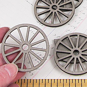 Spoked Wheel Set - 2 Inch*
